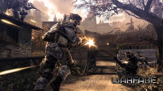 Warface - jön az új Crytek FPS