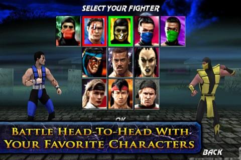 Ultimate Mortal Kombat 3 (iPhone)
