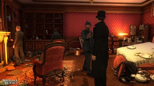 The Testament of Sherlock Holmes - ismét képek