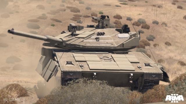 Új tank az Arma 3-ban