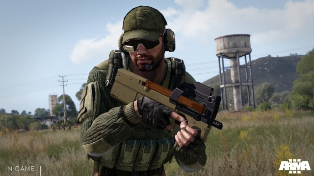 Hivatalos ADR-97 fegyvercsomag mod az Arma 3-hoz
