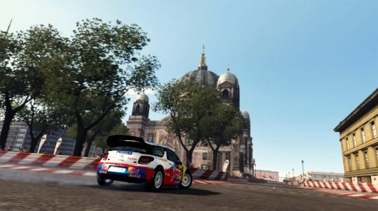 WRC 2 - lesznek városi pályák is