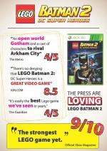 LEGO Batman 2: DC Super Heroes - érdekes statisztikák