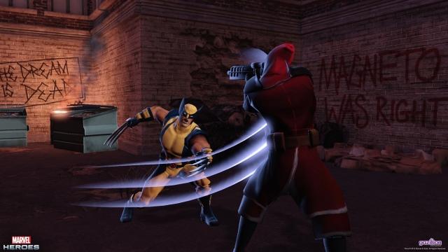Marvel Heroes screenshotok, karakterek és trailer