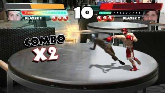 PS Vita nyitócímek - Reality Fighters