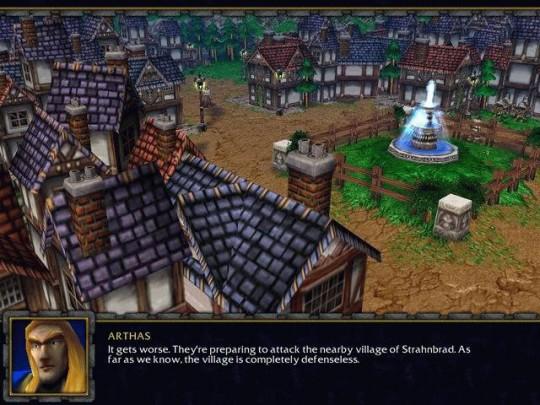 Új Warcraft III képek