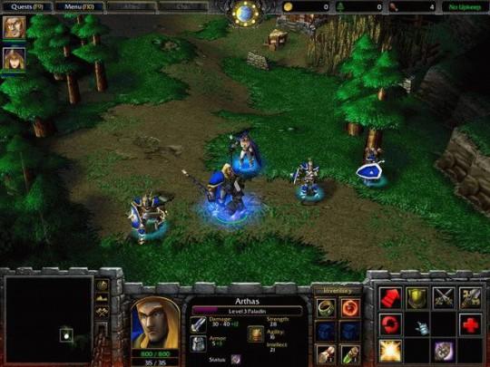 Újabb Warcraft 3 képek
