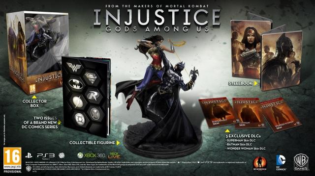 Injustice: Gods Among Us megjelenési dátum