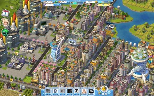 Megjelent a Sim City Social