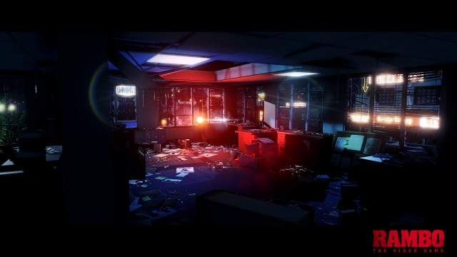 Az első képek a Rambo játékból