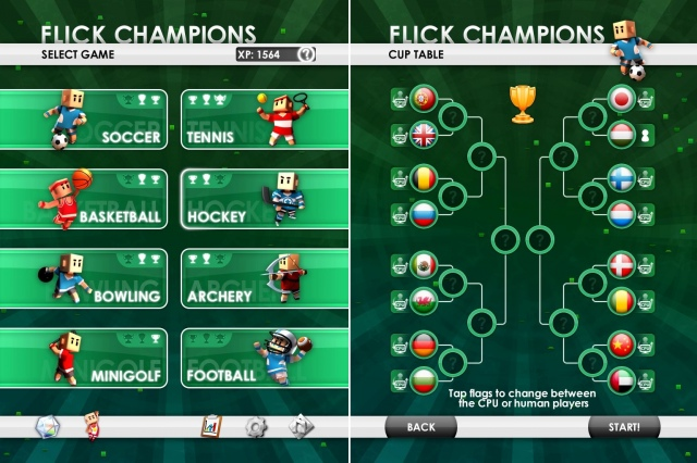 Flick Championship (iPad)