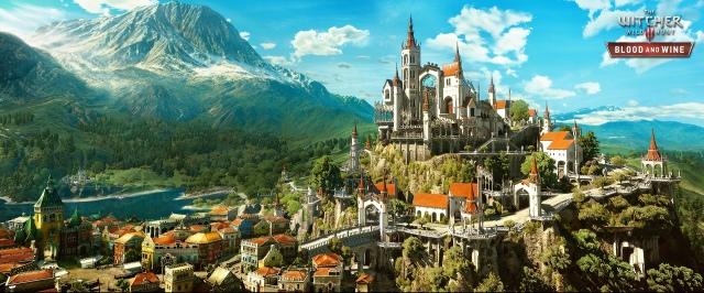 Itt az első két kép a The Witcher 3: Wild Hunt - Blood and Wine-ból