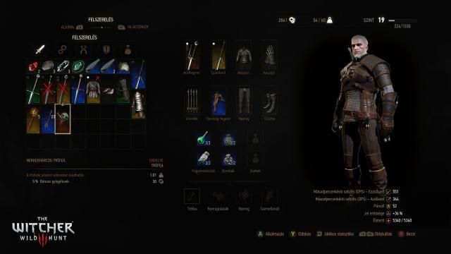 Infók a magyar kiadású The Witcher 3-ról