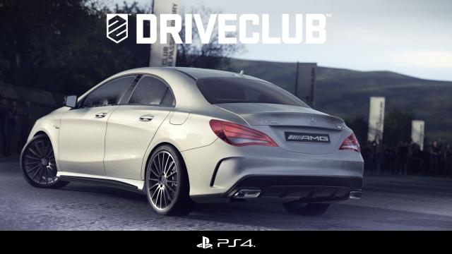Hazai gyártású Mercedes-Benz CLA a DriveClubban