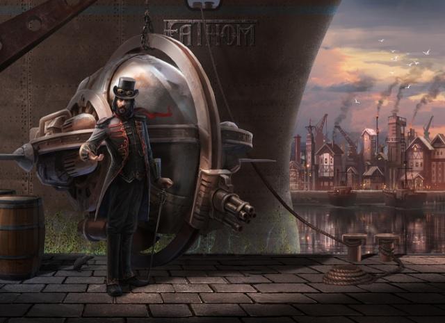 Fathom: Kickstarteren gyűjtenek a steampunk akció-kalandjátékra