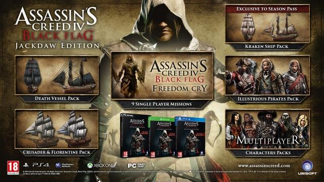 Assassin's Creed IV: Black Flag - Jackdaw Edition