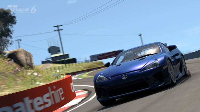 Bathurst pálya a Gran Turismo 6-ban