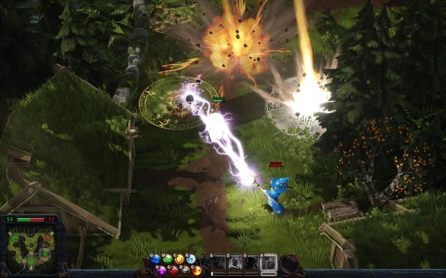 Először mozgásban a Magicka: Wizard Wars