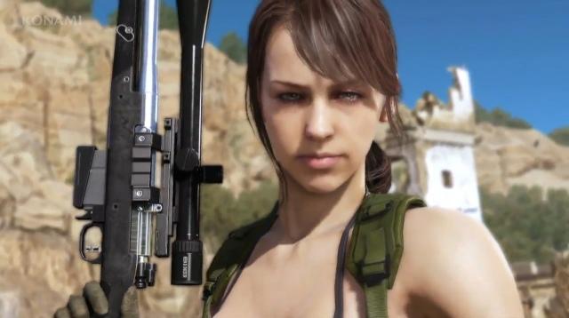 Hatásos belépő a Metal Gear Solid V: The Phantom Painben