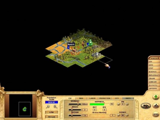 Civilization: Call to Power cheat
