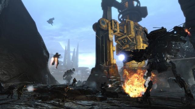 Titanfall Dig Site képek