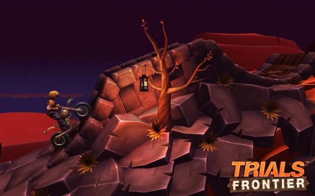 Trials Frontier tabletre és okostelefonra