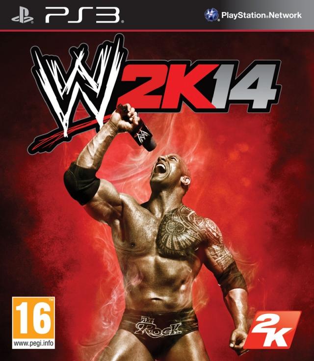 Bemutatták a WWE 2K14 borítóját