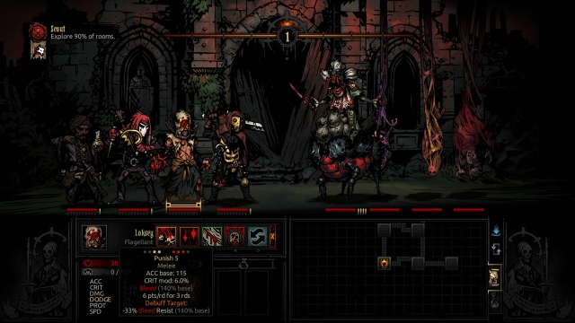 Dátumot kapott a PS4-es Darkest Dungeon: The Crimson Court