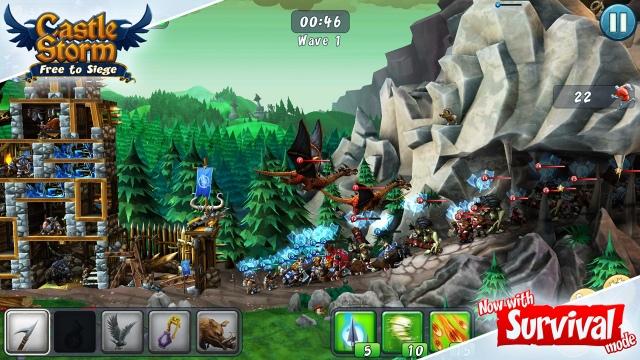 Túlélőmódot kapott a CastleStorm - Free to Siege