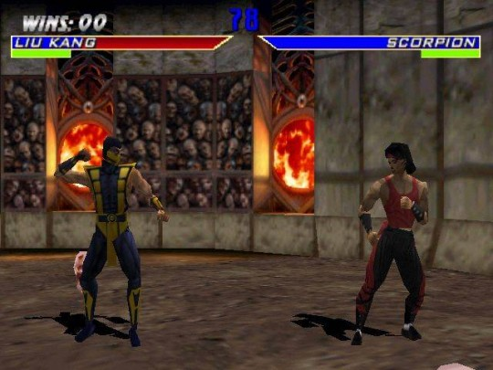 Mortal Kombat 4 cheat