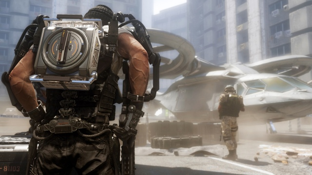 Hivatalos Call of Duty: Advanced Warfare képtrió