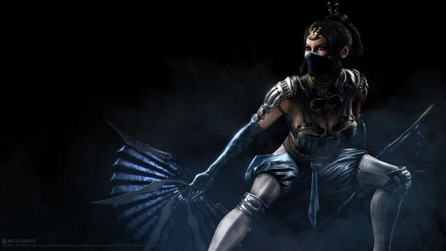 Mortal Kombat X – Kitana támadásban