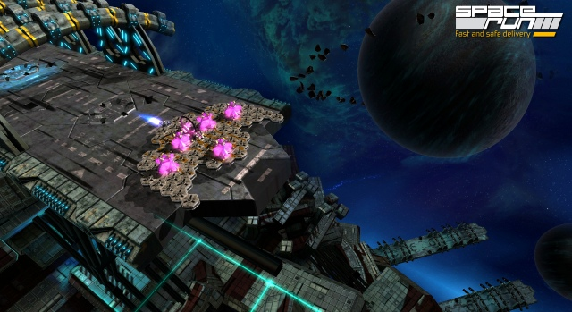 Hivatalos weboldalt és néhány újabb screenshotot kapott a Space Run