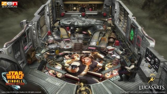 Négy flipperasztalt hoz a Star Wars Pinball: Heroes Within