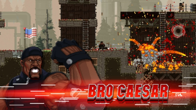 Ingyenes The Expendables DLC a Broforce-hoz