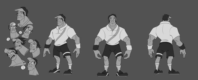 Deuce, a Street Fighter tenisz játék