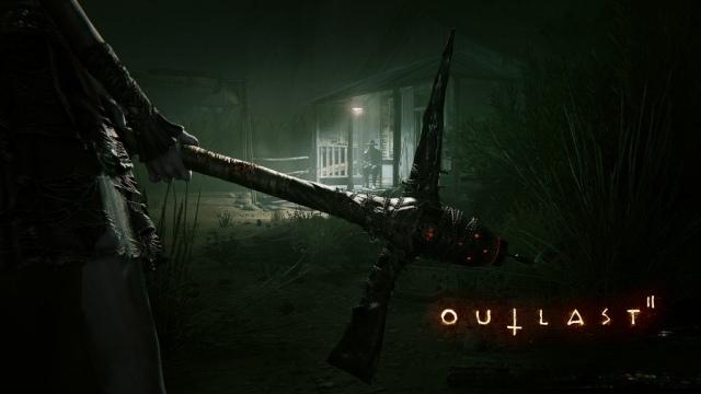 Az első kép az Outlast II-ből