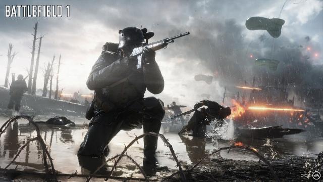 Battlefield 1 multiplayer bétateszt