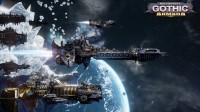 Képeken a Battlefleet Gothic: Armada DLC-je