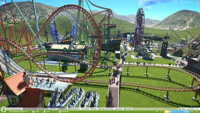 Planet Coaster - alfateszt