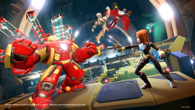 Marvel Battlegrounds Play Set készül a Disney Infinity 3.0-hoz