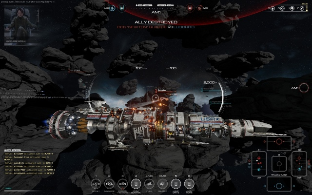 Fractured Space Early Access próbakör