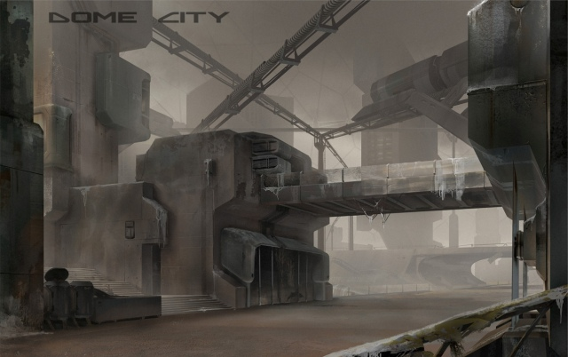 Kupolaváros koncepciórajzok