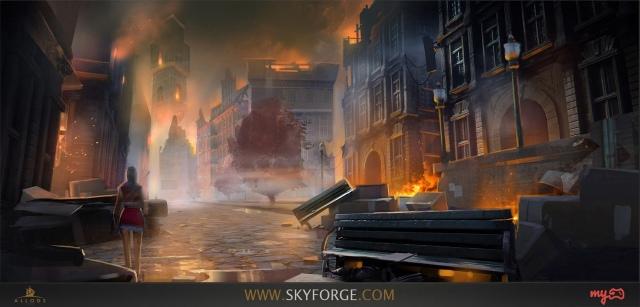 Hamarosan elrajtol a Skyforge nyílt bétája