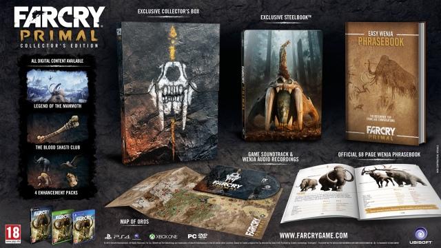 Far Cry Primal trailer és gyűjtői kiadások