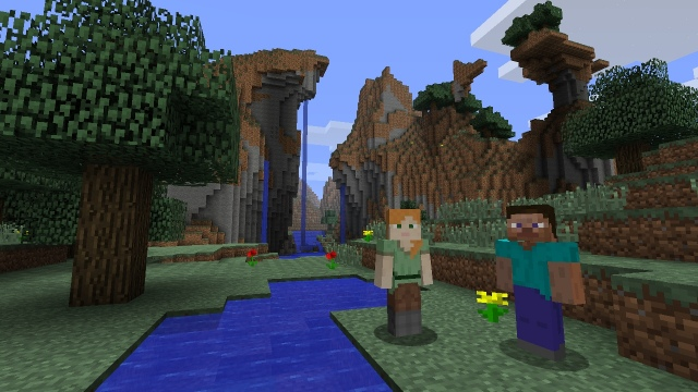 Wii U-ra is jön a Minecraft