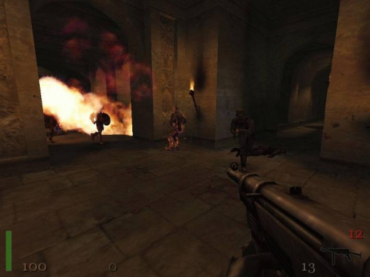 Return to Castle Wolfenstein multiplayer játék