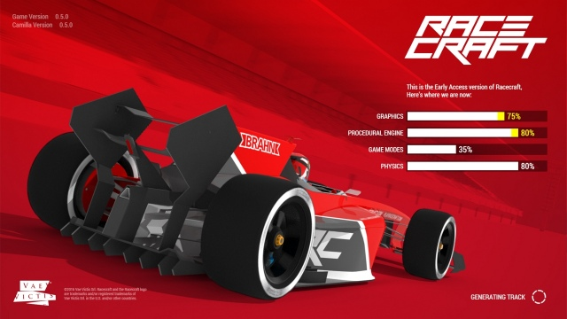 Racecraft Early Access próbakör