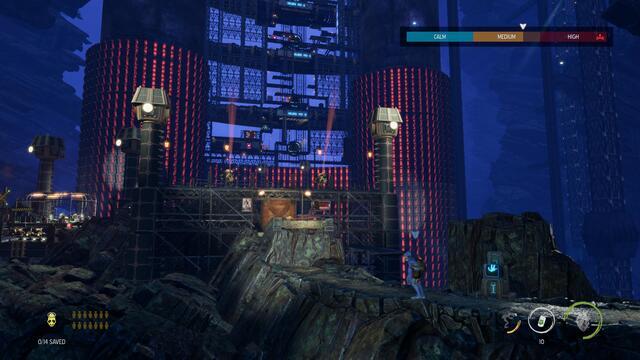Oddworld: prueba Soulstorm - ¡Hola!  ¡Sígueme!