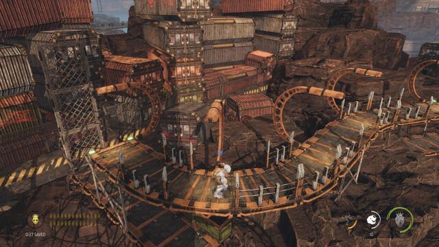 Oddworld: Soulstorm test - Hello!  Follow me!